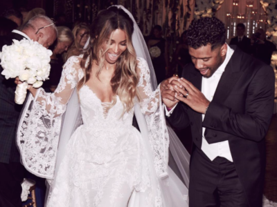 CELEBRITY WEDDINGS: CIARA & RUSSELL WILSON